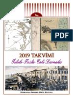 2019 calendar - Scala-Touzla-Old Larnaca (Turkish)
