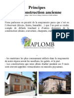Construction Traditionnelle en Bas Dauphine