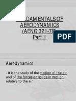 Fundamentals of Aerodynamics Part 1