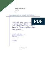Sexualidade e Religião