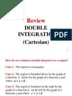 Review Double Integration