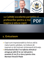 11 Calitati Excelente Pentru Profesor Bejan Sergiu
