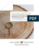 A Structured Approach to Behavioral Risk Assessment and Management.08 1