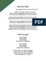 English Christmas Songs