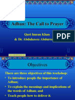 1. Introduction of Adhan-Imran Khan-1