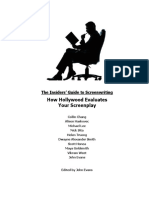 The Insider's Guide to Screenwriting