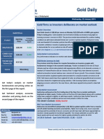Daily Market Commentary FGLD 020119