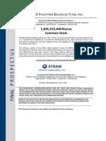 FINAL PROSPECTUS - ATRAM Philippine Balanced Fund (Updated 2.12.18)