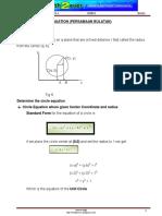 BA 501 Chapter 5 Circle Equation 1