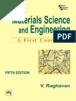 Materials Science and Engineering [V. Raghavan]