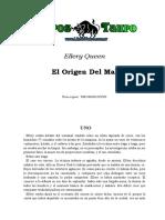 Queen, Ellery - El Origen Del Mal.doc