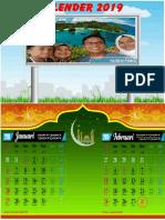 Kalender keluarga 2019