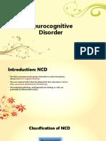 Neurocognitive Disorder