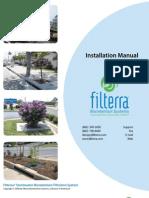 Filterra - Installation_Manual