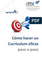 Guía - Cómo hacer un Currículum eficaz.pdf