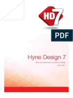 Hyne Design 7 Training Basic & Advanced