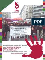 AMUMRA_ Estudio Sobre Los Avances en El Abordaje de La Violencia de Género en Mujeres Migrantes Latinoamericanas en La CABA