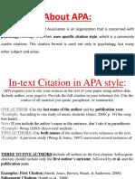 Citation in Apa