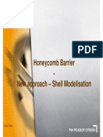 19. Honeycomb Barrier - New Approach_Shell Modelisation