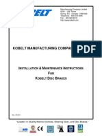 Kobelt Installation Maintenance for Disc Brakes