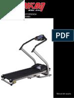 Semikon TE006D Treadmill