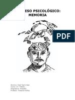 PROCESO PSICOLÓGICO MEMORIA