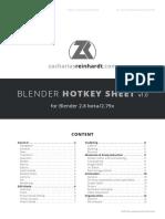 blender hotkeys