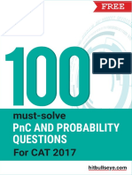 100 Must Solve PnC and Probability