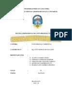 Monografia Ambiental Cuentas Ambientales Del Agua 2018