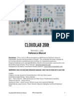 Cloudlab 200t Reference Manual Kopie