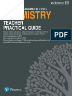 Chemistry Teacher Practical Guide