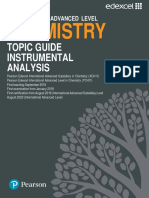 Chemistry Topic Guide Instrumental Analysis