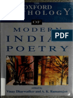 Modern Indian poetry