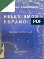 Eseverri, Diccionario etimológico de helenismos