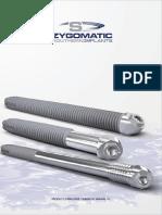 Zygomatic Catalog Surgical Manual