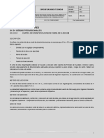 Especificaciones Tecnicas Pampa Grande - edificaciones arquitectónicas