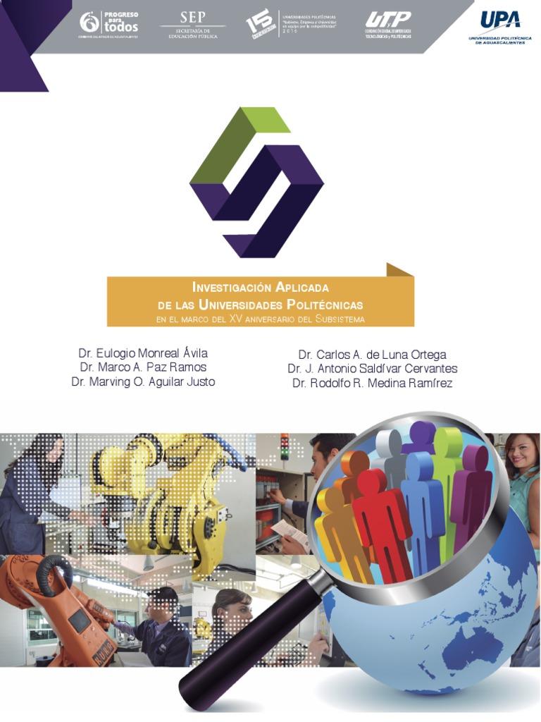 afa5de4356e Investigacion Aplicada 13 Junio 2017web | México | Universidad