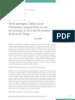 Tecido Estrangeiro, Hábitos Locais Indumentária, Insígnias Reais e a Arte Da Conversão No Início Da Era Moderna Do Reino Do Congo