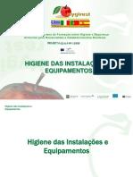 Higiene  das Instalações e Equipamentos.ppt