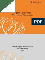 Cap1 - Contaminacao de Alimentos Na Restauracao