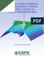 INTRODUCCIÓN AL MÉTODO DE LOS ELEMENTOS FINITOS APLICANDO MATHCAD, CAMPO UNIDIMENSIONAL.pdf