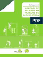 Guia Para El Control de Peligros en Trabajo de Altura Fisico