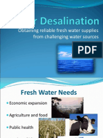 desalination ppt