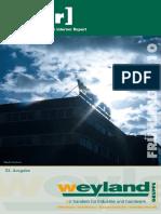 [w.i.r] FRÜHLING 2010 GRUPPE. Weyland s Interner Report. 23. Ausgabe. [Weyland - Carl Steiner - Haustechnik KG - Stahl Eberhardt]