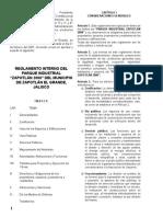 Reglamento Interno Del Parque Industrial Zapotlán 2000