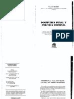 Roxin. Dogmatica penal y politica criminal. 1998.pdf
