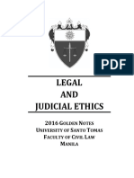 2016 Legal and Judicial Ethics Restricted