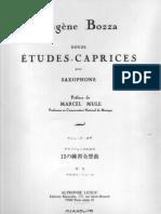 Eugène Bozza - Douze Etudes-Caprices.pdf