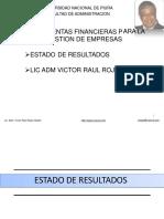 s003-3 3-Funcion Finanzas Estado de Resultados