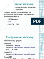 Configuracion de Mysql